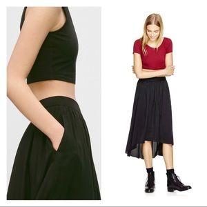 Aritizia Talula high low skirt